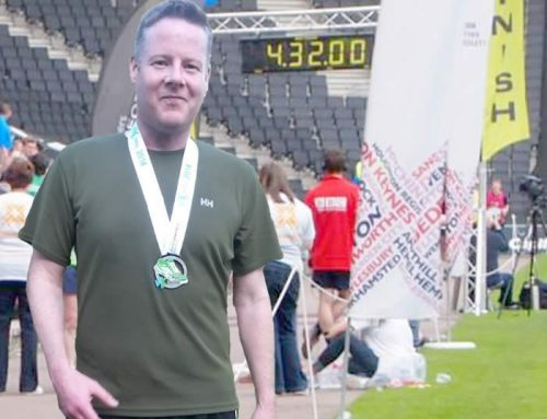 Prism Electronics Runner Raises Money for Cancer Research