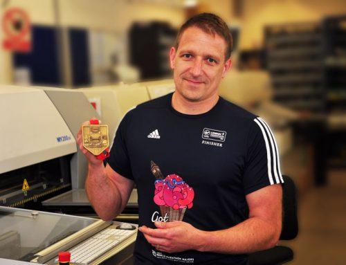 Team Leader runs 2017 London Marathon