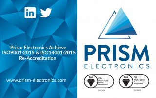 Prism Electronics ISO9001:2015