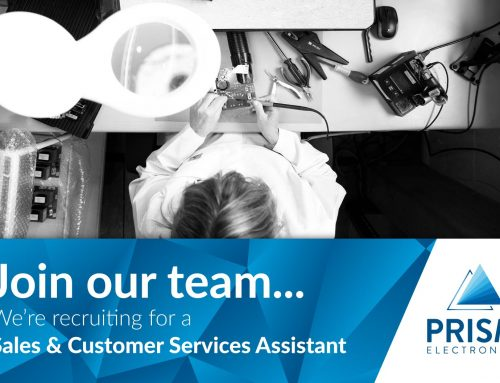 Sales and Customer Services Assistant – Permanent Position