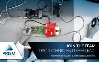 Test engineering job vacancy